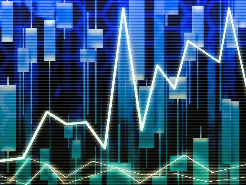株価上昇の図
